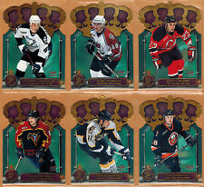 2000-01 , PACIFIC , (McDONALDS) , GOLD CROWN DIE CUTS , COMPLETE SET , 1/6