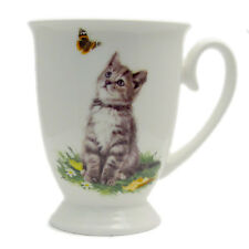 Fine China Royal Mug by Leonardo MacNeil Cats Tabby New Boxed