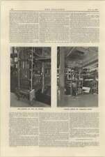 1925 Description Of Mechanism Of Newspaper Conveyors