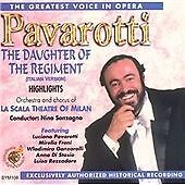 Pavarotti, The Greatest Voice in Opera: Highlights from The Daughter of the Regi