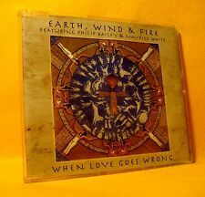 MAXI Single CD Earth, Wind & Fire When Love Goes Wrong 3TR 1997 Soul Funk Disco