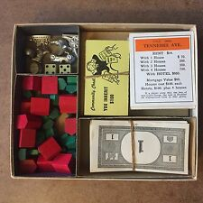 Vintage Monopoly Playing Pieces Set, Parker Brothers, 1952 (no board)