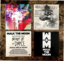 WALK THE MOON Shut Up & Dance | S/T Stickers +FREE Indie Rock Pop Stickers Lot!