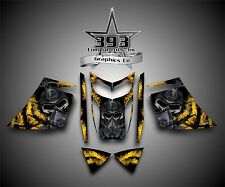 SKI-DOO REV MXZ SNOWMOBILE SLED WRAP GRAPHICS DECAL KIT 03-07 Toxic Yellow