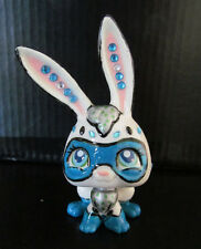 Littlest pet shop super hero bunny rabbit custom hand painted and decorated