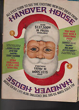 Hanover House Christmas Catalog 1969 Most Unusual Gifts Santa Claus cover