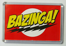 BAZINGA BIG BANG THEORY BAZINGA LARGE FRIDGE MAGNET BIG BANG THEORY