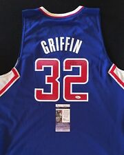 BLAKE GRIFFIN LOS ANGELES CLIPPERS SIGNED Blue Jersey JSA NBA ALL STAR!!