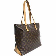 Auth LOUIS VUITTON Monogram Cabas Mezzo M51151 Tote Shoulder Bag Purse DU0023