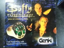 BUFFY THE VAMPIRE  PROP REPLICA GEM AMARA RING BOXED
