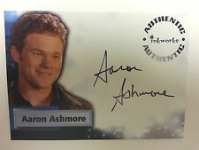 SMALLVILLE SEASON 4 AUTOGRAPH/auto  A47 AARON ASHMORE as JIMMY OLSON