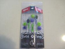 Maxell  Earbuds Buds Wild Things New Lime Green & Purple