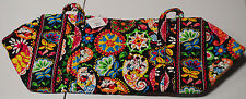 NEW WITH TAGS VERA BRADLEY MIDNIGHT WITH MICKEY  LARGE DUFFEL