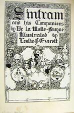 Le illustrazioni sintram & COMPAGNI frontespizio inchiostro L F Everett c1915