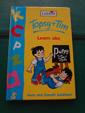 Ladybird book. Topsy + Tim - Learn abc