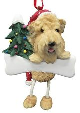 WHEATEN TERRIER  ~ DANGLING DOG ORNAMENT #41