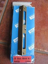 Schließblech Zimmertür 170 mm Schenkelbreite 19mm von Wilka