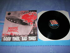 NUCLEAR ASSAULT GOOD TIMES BAD TIMES LP VINYL PICTURE DISC SLAYER KREATOR ...