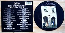 "MINT! THE BEATLES SOMETHING COME TOGETHER 20TH ANNIVERSARY 7"" Vinyl Picture Disc"