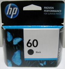 HP 60 (CC640WN) GENUINE BLACK INK CARTRIDGE , NEW IN BOX