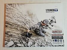 Steiner 2015 Military Catalog Riflescopes, Binoculars + NEW