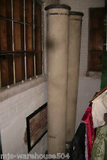 HALLOWEEN PROP HAUNTED HOUSE DOORWAY 11 FT. FAUX CONCRETE COLUMNS PILLARS SET 2