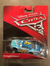 NEW 2017 Disney Pixar Cars 3 Buck Bearingly Die Cast Car Movie FREE SHIPPING