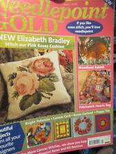 Needlepoint Gold UK Magazine #7-Rabbit/Patchwork Heart Bag/Roses/Wedding Set/Can