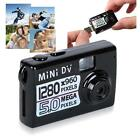 Digital Camera 5MP HD Smallest Mini DV Video Recorder Camcorder Webcam DVR Black