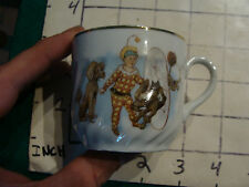 Original Vintage Childs cup/mug: Early CIRCUS DOGS