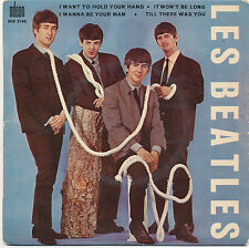 "7"" EP - Les Beatles - I Want To Hold Your Hand - Odeon 7 SOE 3745 - FR 1964"