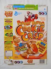 2005 General Mills Peanut Butter Cookie Crisp Cereal Box