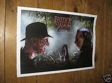 A Nightmare on Elm Street Freddy Krueger v Jason POSTER