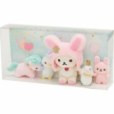 Plush Doll Set Korilakkuma Fluffy Cute Dream ❤ San-X Japan Rilakkuma
