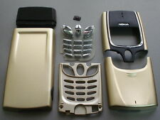nokia 8850 fascia cover keypad set  gold colour