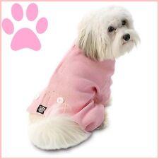 """Petrageous Pink Thermal Long John Style Dog Pajamas  """"FREE TOY FREE SHIP""""   M/L"""