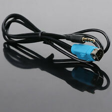 3.5mm 3-pin Aux Cable For Alpine Car Stereo MP3 Kce-236B CDE 9885 CDA 9852 9883