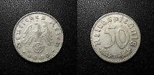Allemagne - IIIème Reich - 50 Reichspfennig 1940 B, Vienne - KM#96