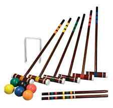 Lawn Games Croquet Set For Adults 6 Player Outdoor Picnic Family Yard Families