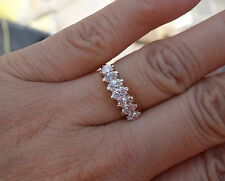 .97 ct Paramid diamond marquise wedding anniversary right-hand ring 14k YG