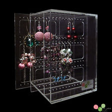 Pink-Pea 90 Pair Earring Holder | Box Stand Shop Display Case | BRAND NEW