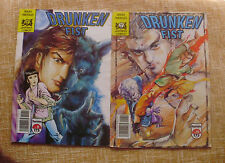 Lote de 2 Comics, Drunken Fist, nº 11 y 12, Jademan Comics, Forum Comics, 1991