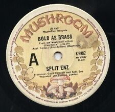 """SPLIT ENZ   CROWDED HOUSE  Rare 1977 Aust Only 7"""" OOP Single """"Bold As Brass"""""""