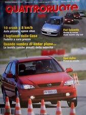 Quattroruote 510 1998 Prova su strada Opel Astra. Fiat 600. Ford Focus    [Q.63]