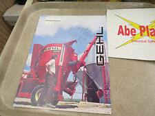 Gehl Mix all 135 / 100 advertisement booklet