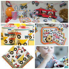 Construction birthday party supplies, construction party in a box, construction