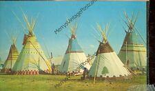 BROWNING,MONTANA-BLACKFEET TEEPEES-1971-(INDIAN-236)