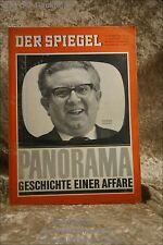 Der Spiegel 43/63 23.10.1963 Panorama Geschichte e. Affäre