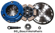 QSC Stage 3 Ceramic Clutch Kit Forged Flywheel fits Honda Civic 92-05 D-series