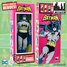 Official DC Comics Batman 8 inch Action Figure in Mego Style Retro Box